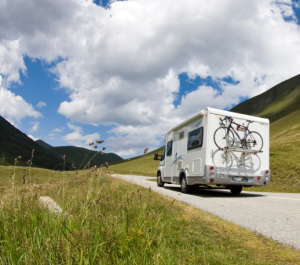 Recreational Vehicle on Trip