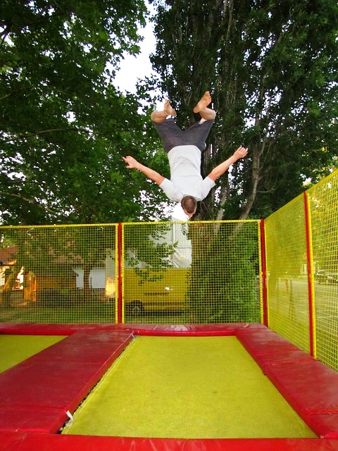 Think the Trampoline is Just for Gymnasts? It can Benefit You too!