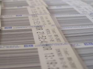 custom ticket printing