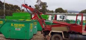 skip bin in Perth