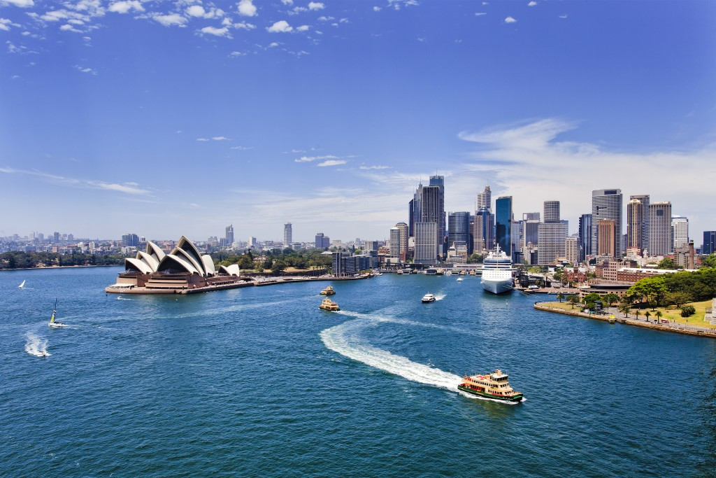 Holiday in Australia