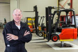Forklift Service Area in Sydney