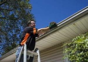 Rain Gutter Cleaning in Denver