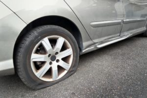 Failed Tyre in Perth