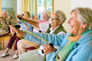 Group of Elderly from Las Vegas
