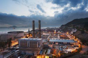 Urban emitting carbon dioxide