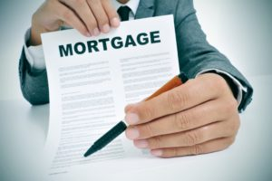 Mortgage Written on a Document