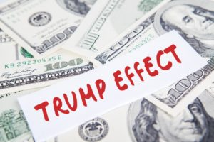 Trump Effect message over the money