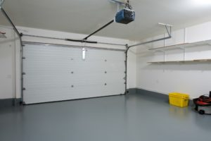 Secured garage door