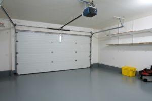 Secured garage door