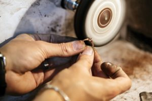 Man Making a Ring