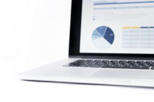 Price monitoring on a laptop