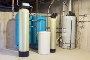 Home's water treatment system