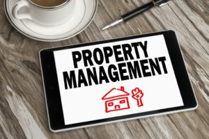 Property Management On Tablet