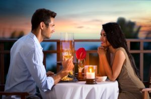 Warm weather for a perfect date night