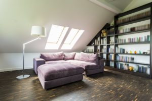 Headspace for loft conversion