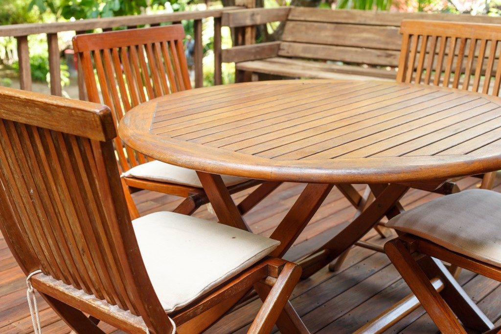 Setting up your Patio Area