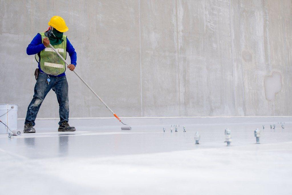epoxy sealing process