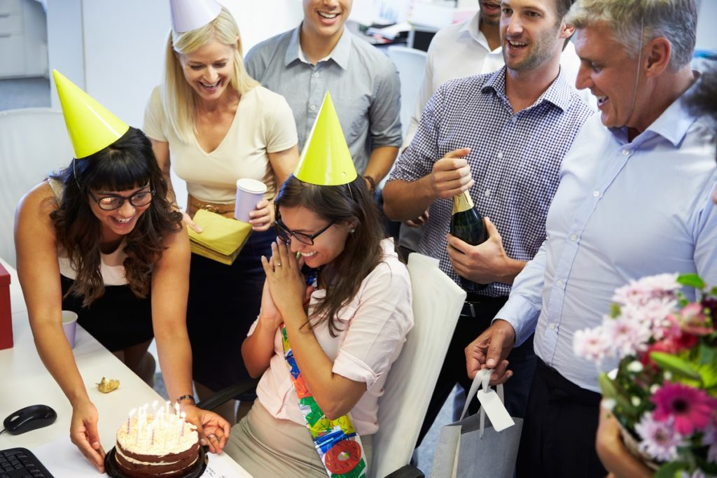 Birthday of an employee