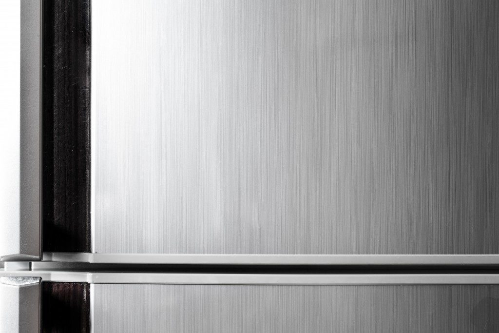 close up refrigerator