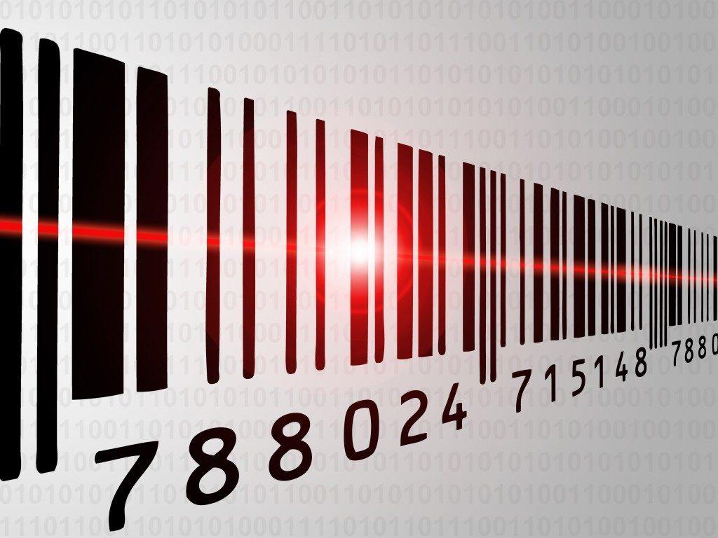 Barcode laser