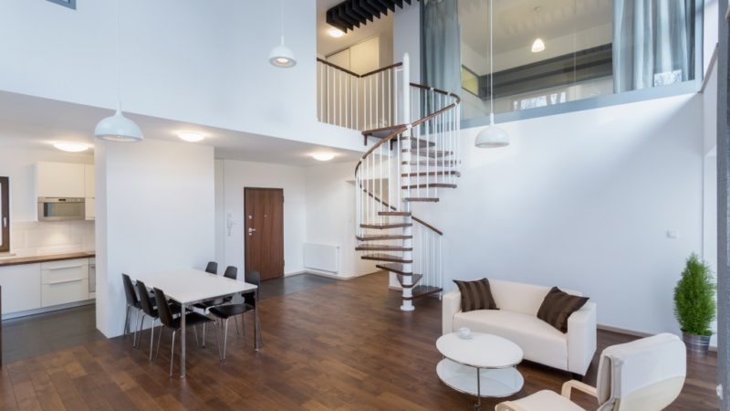 Ideas for Including the Trendy Spiral Staircase in Your Interiors