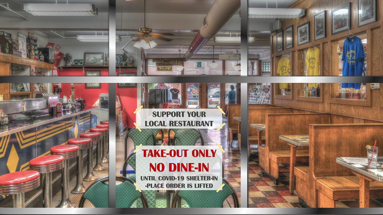 restaurant during pandemic