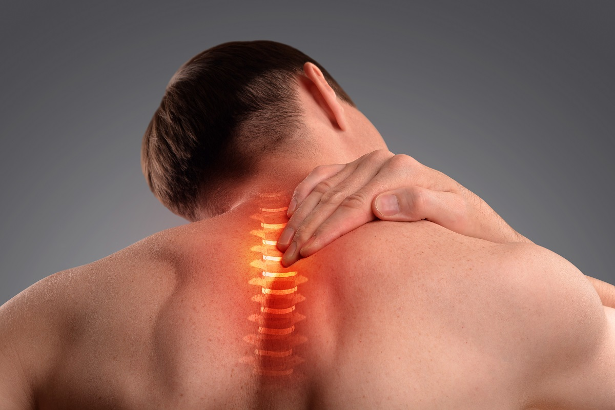 having neck pain