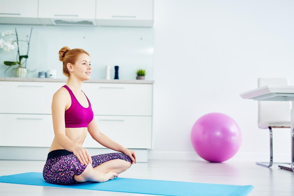 yoga and meditation at home