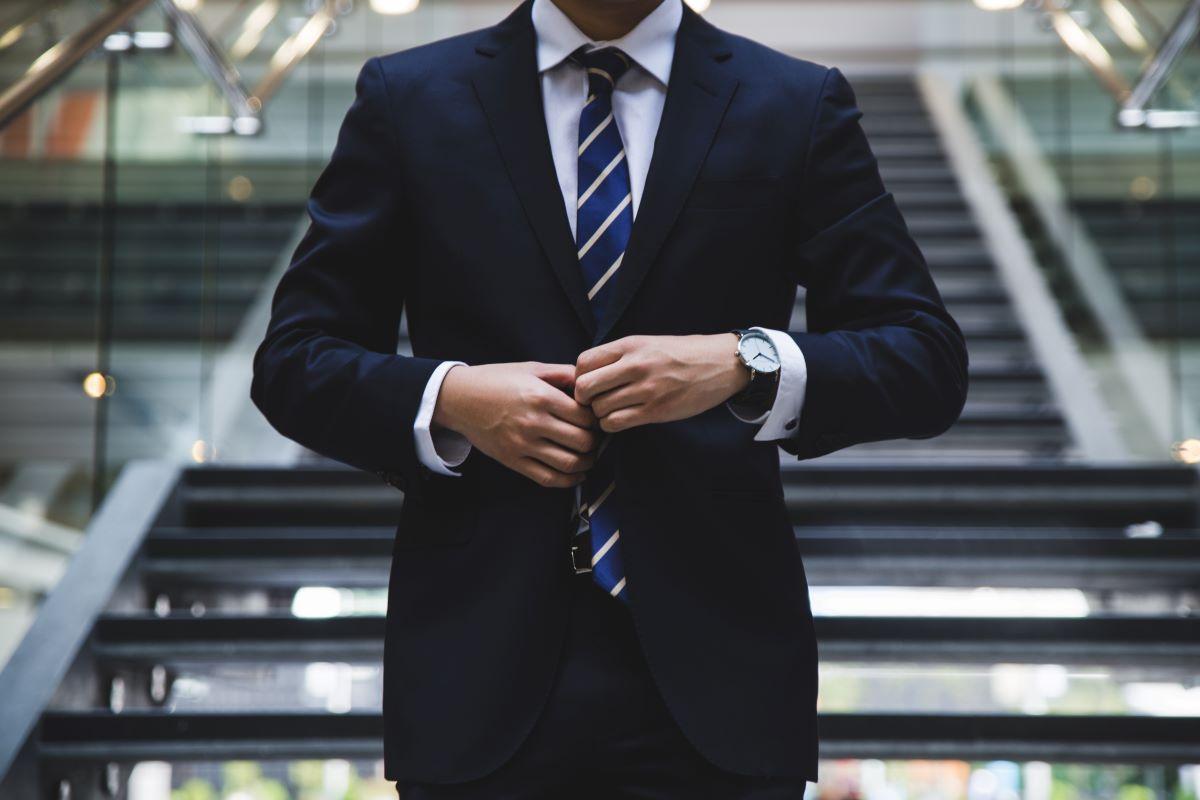 well dressed businessman